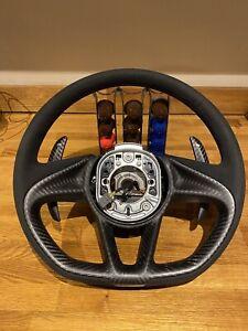 McLaren 720S Carbon Steering Wheel