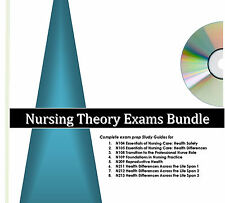 Excelsior College Nursing Theory Exams - Complete Series -  Study Guides CD