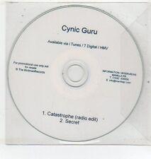 (ET386) Cynic Guru, Catastrophe / Secret - DJ CD