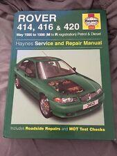 Rover 400 Series (95-98) Service and Repair Manual (Haynes Serv .9781859604533