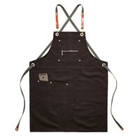 Kitchen or Workshop Knight Foundry Logo Canvas Apron Made in USA