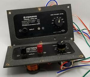 Pair of Vintage Pioneer HPM-40 Crossovers SNW-108-0