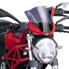 Ducati M 1100 2009-2012 Puig Motorcycle Windshield Screen Dark Tint