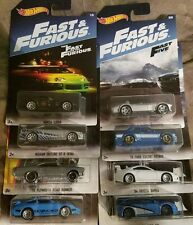 HOTWHEELS  2017 FULL SET OF 8  FAST AND FURIOUS 2017