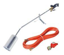 Gasbrenner Anwärmbrenner Aufschweißbrenner +  Regler Abflammgerät Dachbrenner