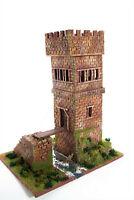 Turmburg Motte Thardron  zu 7cm - 3046, Fertigmodell in Composite Mischbauweise,