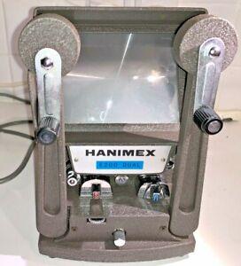 Hanimex E200 Dual 8 Movie Editor, boxed