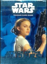 WOTC 1 STARTER  STAR WARS TCG  ATTACK OF THE CLONES LIGHT SIDE