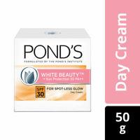 Ponds White Beauty Sun Protection Day Cream SPF 30 PA++ Spot Less Glow 50 Grams