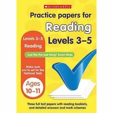 Practice Papers for Reading Levels 3-5  (Age 10-11 Years)