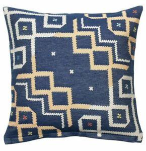 "New Ikea OVERALLT Pillow Cushion Cover Size:20"" x 20""  Blue"