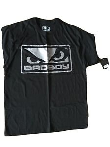 Bad Boy Tshirt (MMA) Black Size large. Great Quality Martial Arts Fashion. UFC