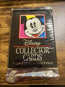 1991 Impel Disney Collector Trading Cards (1) Unopened Pack.