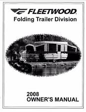 FLEETWOOD Trailer Owners Manual -2008 Highlander Arcadia Avalon Niagara Saratoga
