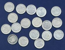 GERMANY 2 MARK COINS: 1967, 1968, 1969, 1970, & 1971, NEARLY ALL DIFFERENT DATES
