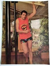 Rare Bollywood Actor Poster - DHARMENDRA - 12 inch X 16 inch