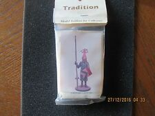 """Tradition Miniatures 90mm """"Ulrich Von Lichenstein"""" Metal"""