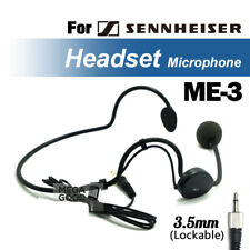 Headworn Headset Microphone ME3 Condenser ME 3 Mic For Sennheiser  EW322 G2 G3