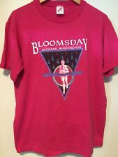 vtg 1990 NIKE Bloomsday run Spokane Washington t shirt James Joyce ULYSSES M L