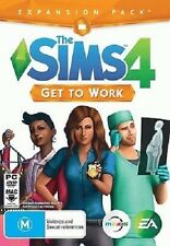The Sims 4 Get to Work (PC DVD) NEW *cheapest price*