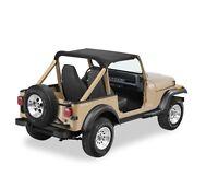 Bestop Black Denim Strapless Bikini Top For 92-95 Jeep Wrangler #52519-15
