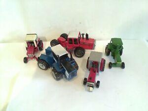Vintage Farm Tractors Ford Massey Ferguson And Ford John Deere Plus...
