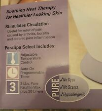 Spa Paraffin Self or Pro Waxing System Never Used HomeMedics