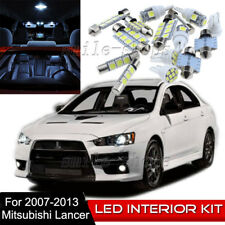 8pcs Interior LED Light Bulbs Package Kit for 2007-2013 Mitsubishi Lancer EVO X