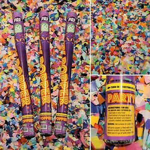60cm Giant Large - Compressed Air Confetti Cannon Party Streamer Shooter Popper