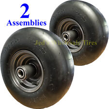 2) 13x6.50-6 13/650-6 TIRE RIM WHEEL for some Exmark Toro more Zero Turn Mowers