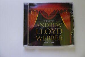 """CD - Andrew Lloyd Webber - """"The Best Of"""" - Disc One"""
