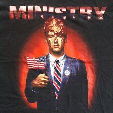 Vintage MINISTRY FILTH PIG 1996 TOUR T-SHIRT 90s XL concert tee