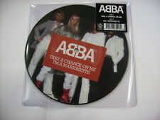 "ABBA - TAKE A CHANCE ON ME - 7"" PICTURE DISC VINYL NEW UNPLAYED 2017"