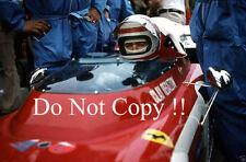 Clay Regazzoni Ferrari 312 B2 Spanish Grand Prix 1972 Photograph