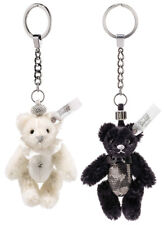Steiff Selection Wedding Teddy Bear Keyring Set with Swarovski Crystals - 034114