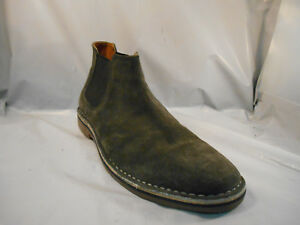 MISMATCHED SZ Kenneth Cole Reaction Desert Sky Gray Suede Ankle Boots 9.5 & 10