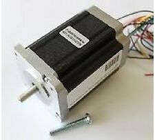 """Stepping Motors (Also called Stepper Motors) 425 oz-in 1/4"""" dual shaft"""