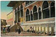 Turkey, Constantinople, Velida Mosque, Fountains, old postcard