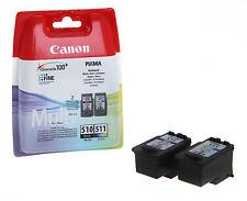 New Original Canon PG-510 CLI-511 Black/Colour Ink  (2970B010) for PIXMA MP230