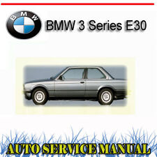 BMW 3 Series E30 1984-1990 SERVICE REPAIR MANUAL ~ DVD