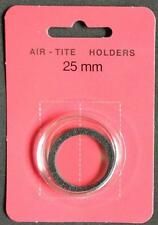 25mm AIR-TITE COIN HOLDER WITH BLACK RING