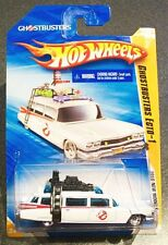 HOT WHEELS 2010 GHOSTBUSTERS ECTO-1 '59 Cadillac 25/44 ON GOOD CARD