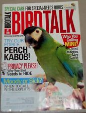 **BIRD TALK MAGAZINE Jul 09 Mini Macaw Feather Picking Plucking Special Needs
