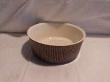 Villeroy und Boch Keramik Auflaufform / Schüssel Souffleform Nr. 2 Rillen Dekor