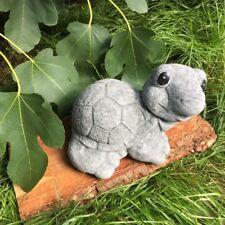 Schildkröte Garten Dekoration Tierfiguren - Gartenteich Figuren Beton frostfest