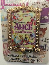 Disney Alice In Wonderland Studio Animation Film Poster Pin LE 300