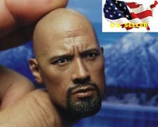 1/6  Dwayne Johnson head sculpt the Rock Furious Hot Toys Ganghood Phicen ❶USA❶