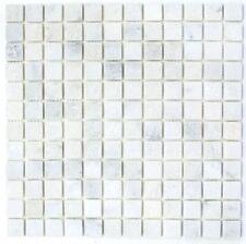 Mosaïque carreau marbre naturel pierre blanc Ibiza Antique 40-42048_f |10plaques