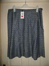 M&S Knee Length Linen A-line Skirts for Women