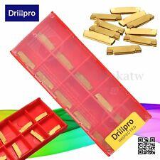 10Pcs/Box MGMN200-G Metal Golden Carbide Insert For MGEHR/MGIVR CNC Cutter Tool